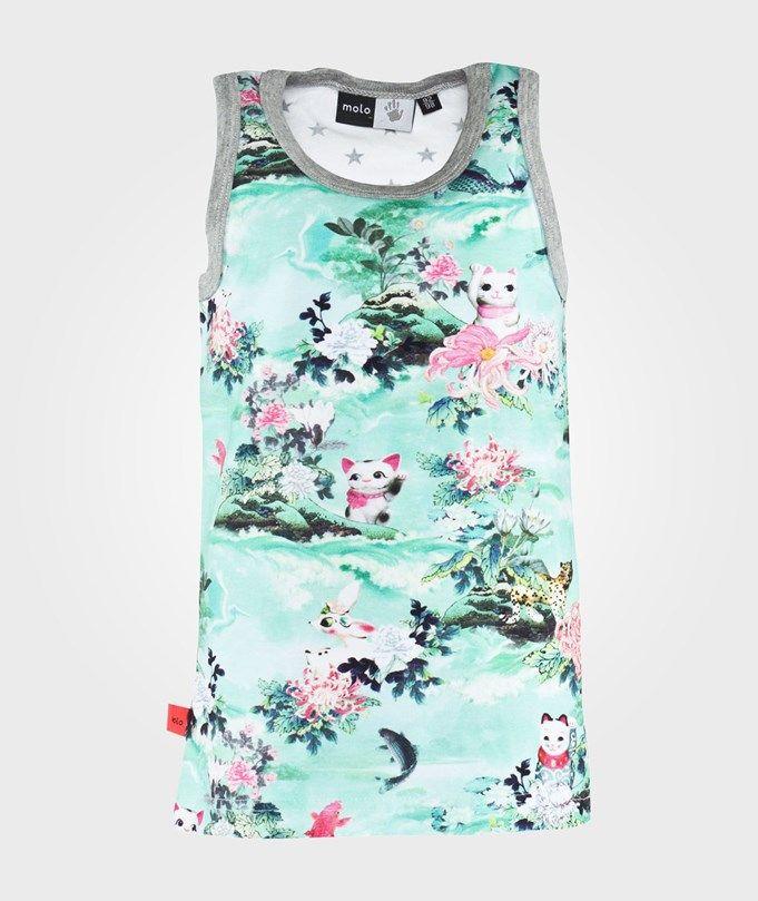 Molo Kids, Joshlyn toppi. Tytölle 134/140cm (n.22e) Kaikki nämä molon tyttömäiset paidat käy.