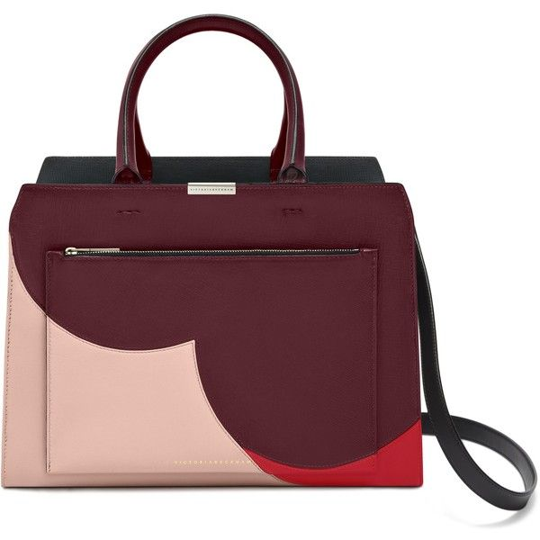 City Victoria Bag ❤ liked on Polyvore featuring bags, handbags, tote bags, purple handbags, purple tote, purple tote bag, rose handbag and purple purse