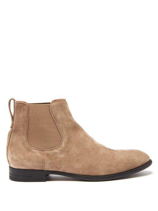 915b2f1b ERMENEGILDO ZEGNA Suede chelsea boots. #ermenegildozegna #shoes ...
