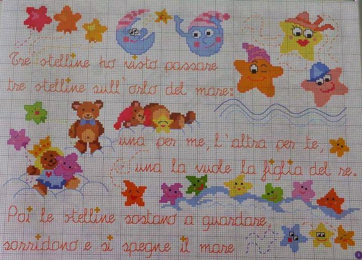 Punto croce per i bambini la mia passione punto croce for Farfalle a punto croce per bambini