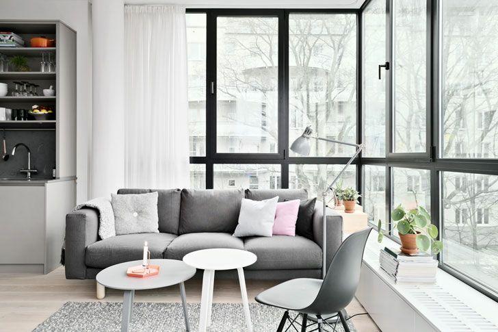 Скандинавский стиль - красивые фотографии интерьеров квартир и домов Швеции, Дании, Норвегии. Скандинавский дизайн