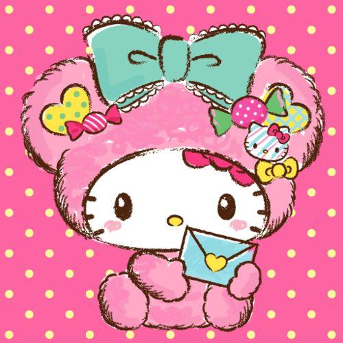Pinker hello kitty kuchen