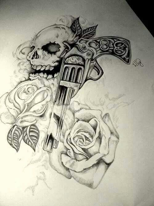 Skull Tattoo @proulxjustice #yourstory #bodyart #tattoo