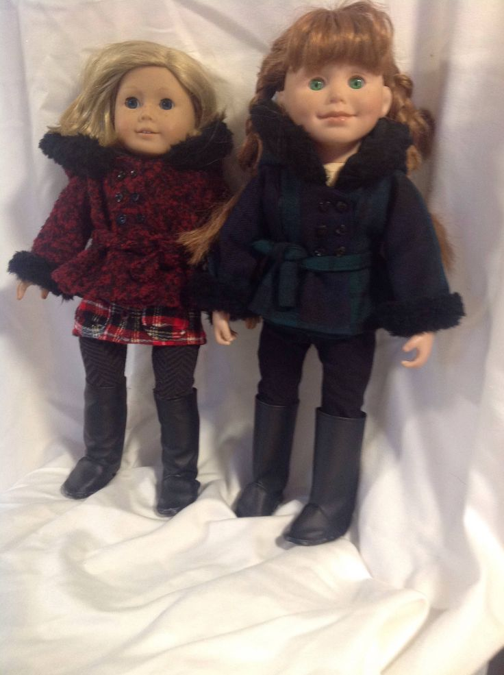 A personal favorite from my Etsy shop https://www.etsy.com/ca/listing/557631968/hooded-winter-coat-to-fit-18-dolls-such