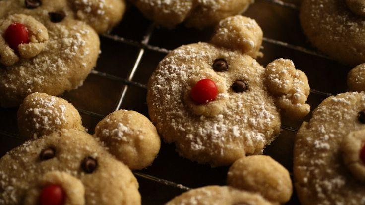 Cinnamon Polar Bear #Cookies #Christmas