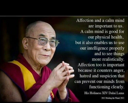 Dalai Lama's Words Of Wisdom