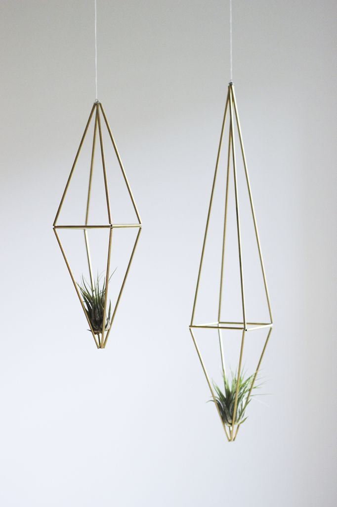 DIY Metal Himmeli Prism Tutorial | cladandcloth.com