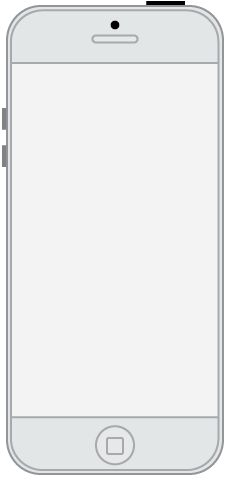 I made this iPhone template in Adobe Illustrator to use in the Axure program and it's to scale. When I opened it up in Axure all the wireframe features fit into the template perfectly.