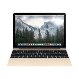"Apple MacBook - 12"" - Core M - OS X 10.10 Yosemite - 8 GB RAM - 512 GB flash opslag"
