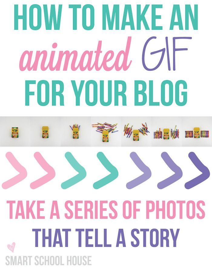How to Make an Animated GIF for your blog. Super easy tutorial and a creative traffic gaining strategy!