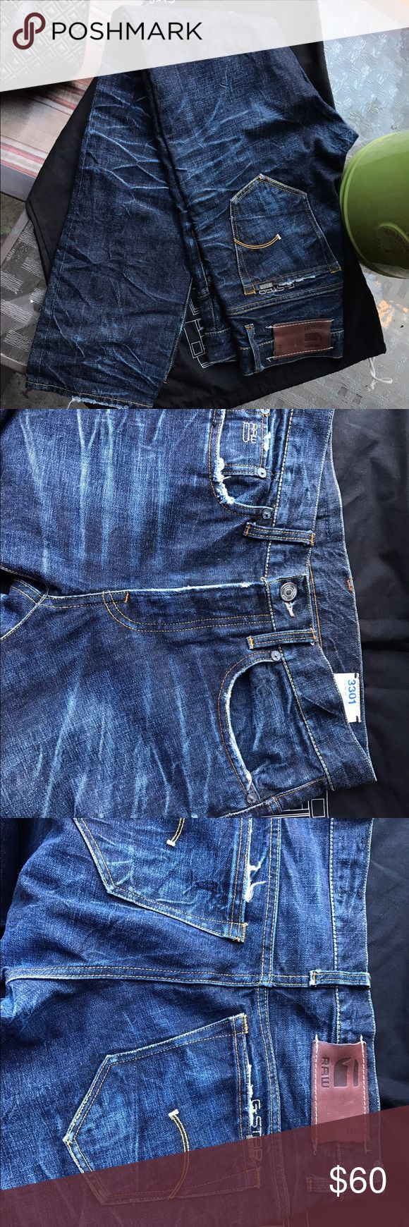 G Star raw size 31 Used once but my husband prefers regular fit than skinny, retail Price $189 G Star Raw Jeans Skinny