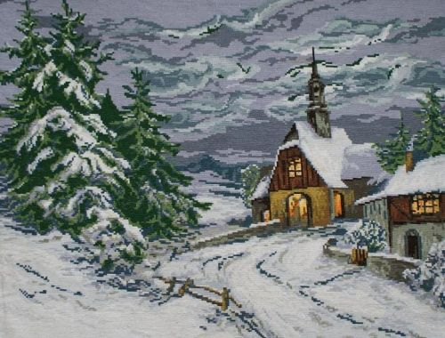 Gobelin Wiehler - Winter chapel