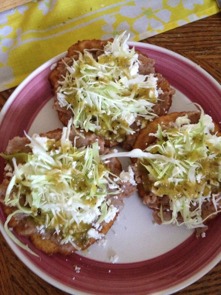 Mexican Sopes :-)   Mexican food   Pinterest