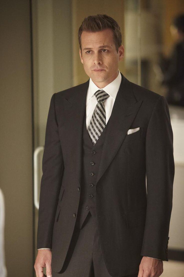 "Harvey Specter of ""Suits.""  Fabulous look."
