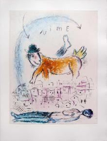 Senza titolo n. 7, De mauvais sujets, 1958, Marc Chagall  - Irma Bianchi Comunicazione