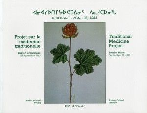 [Traditional Medicine Project]  Compiled by Jonathan Stevens in 1983, the Traditional Medicine Project covers the medicinal knowledge gathered in 13 Nunavik communities. Various sicknesses and medical conditions are described and traditional treatments outlined.  The second part describes the materials used for healing, whether vegetal, animal or mineral.