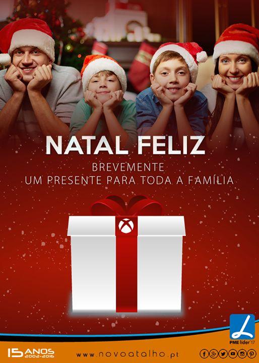 Natal Feliz Brevemente um presente para toda a Família.  Amanhã não se esqueça de nos visitar vamos estar abertos das 10h às 16h. #novoatalho #natalfeliz #presente