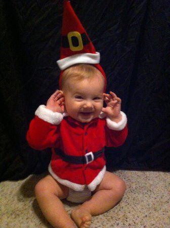 25 squee-worthy photos of Santa babies!   #BabyCenterBlog