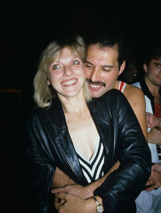 Mary Austin & Freddie Mercury. Love of his life.
