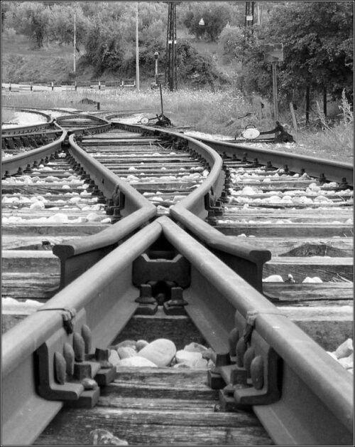 Il mio treno é sull'altro binario