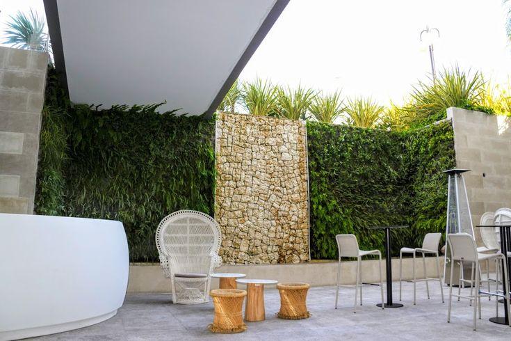 Jardín vertical aquapónico