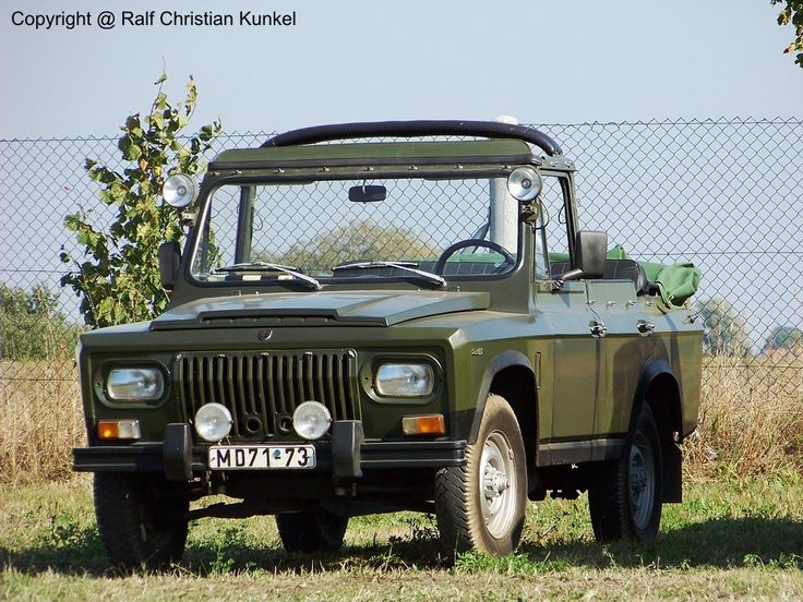 Romanian ARO 241 (with canvas top cover folded down)