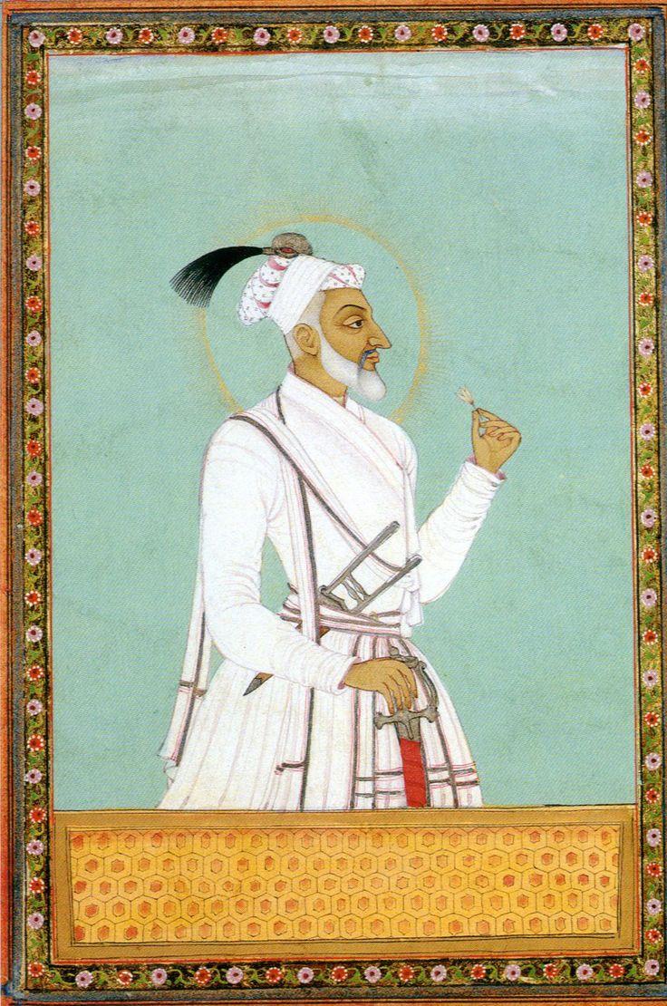 Miniature Portrait Aurangzeb - PICWIK - UIowa Wiki