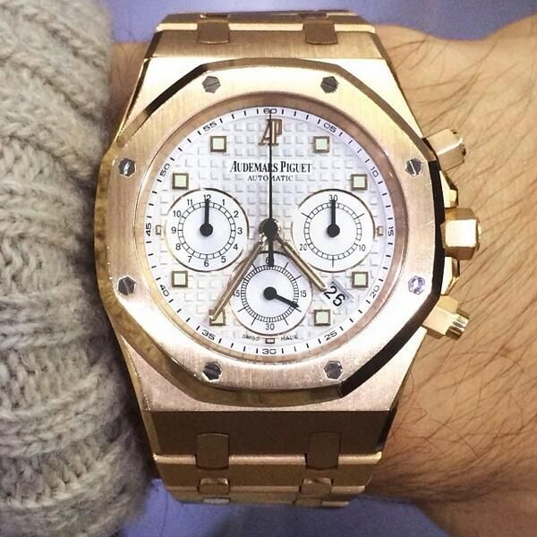 Golden Glow- Audemars Piguet Royal Oak Chrono