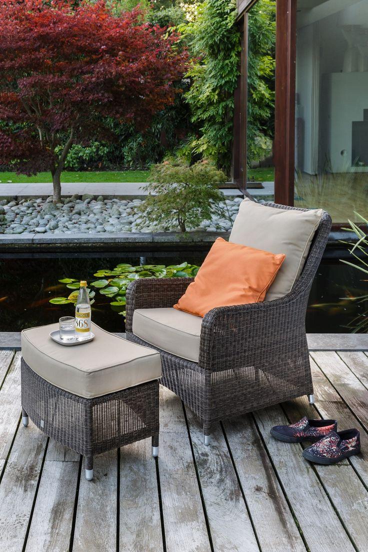 Fauteuil de jardin transat kok maison salons de jardin for Transat fauteuil jardin