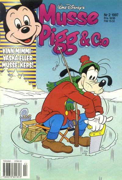 Cover for Musse Pigg & C:o (Egmont, 1997 series) #2/1997