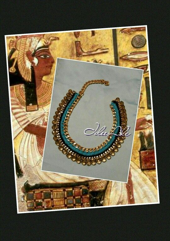 Egypt necklace hook