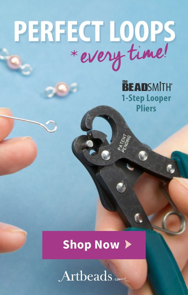 The Beadsmith 1 Step 2 25mm Looper Plier Bead Crafting Jewelry