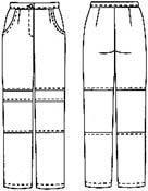 Женские спортивные штаны выкройка