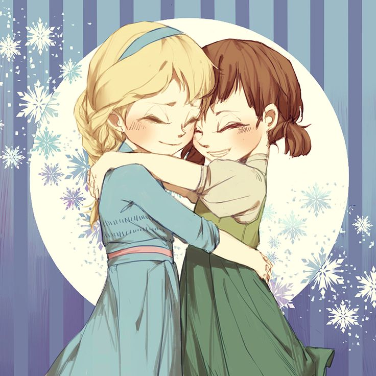 elsa and annaWalt Disney, Anna Frozen, Elsa Frozen Art, Disney Art, Anime Girls, Disney Pixar Dreamworks, Disney Frozen Fans Art, Frozen Sisters, Animal Girls