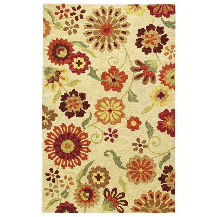 Lazy Daisy Wool Tufted Rug Pier 1 Imports Area Rugs