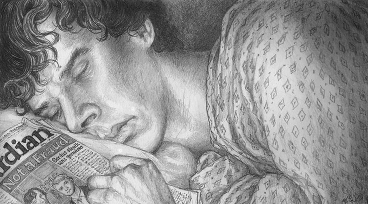 http://khorazir.tumblr.com/post/42870730807/sherlock-after-the-fall-sleeping-35th-in-my (11 feb 2013)