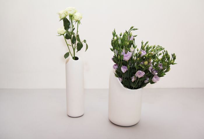 Beautiful vases. #introdesign #accessories #vases #flowers  #mustache #ionnavautrin