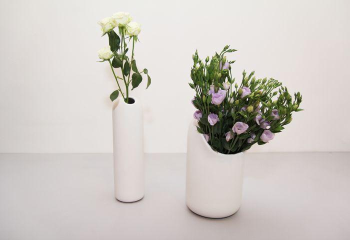 Beautiful vases. #introdesign #accessories #vases #flowers  #mustache #ionnavautrin