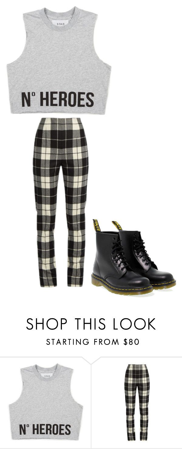 """""""Untitled #27"""" by margaretbistolfi on Polyvore featuring MaxMara and Dr. Martens"""
