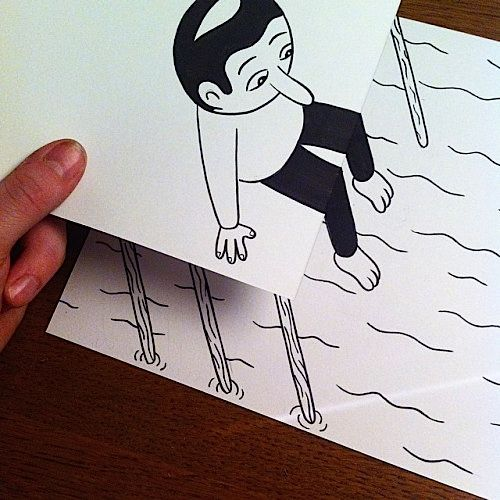 Super Creative Drawings on Paper