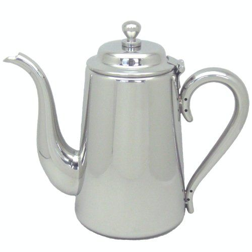 9508円UK 18-8 M型 コーヒーポット 5人用