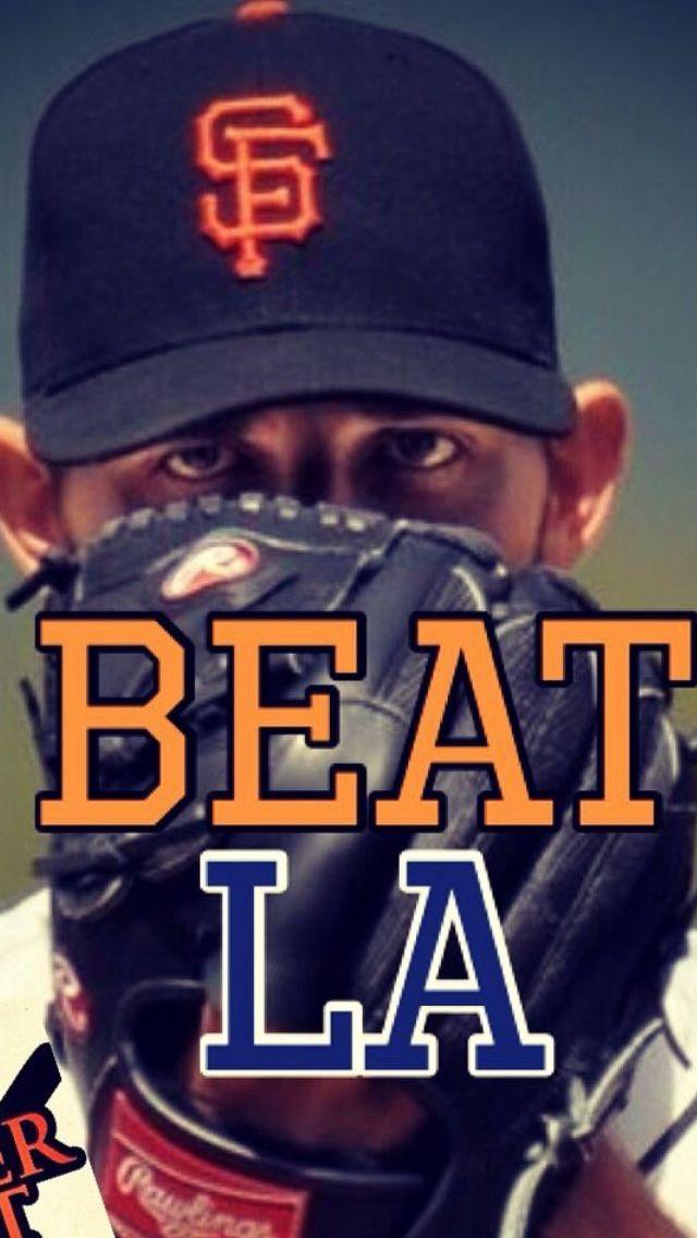 Dodgers-Giants rivalry! Beat LA! #SFGiants #BeatLA