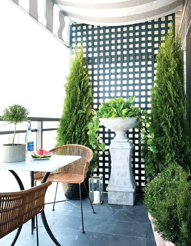 Fabric Privacy Screen Outdoor