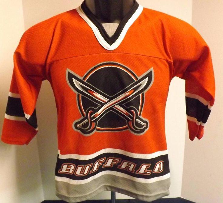 CCM NHL Hockey Buffalo Sabres #81 Miroslav Satan Red Hockey Jersey Youth XS #CCM #BuffaloSabres