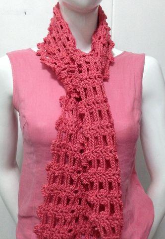 Free Crochet Pattern: Easy Crochet Scarf 2
