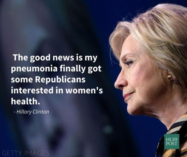 Funny 2016 Election Memes: Hillary's Pneumonia