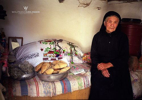 Women from Olympos VIllage...Traditional food, spices and Architecture
