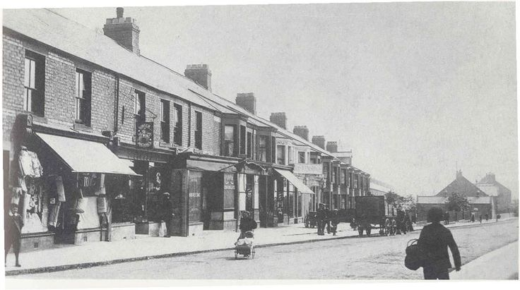 Laburnum Terrace, Ashington,Northumberland-I used to live in the flat over the very last shop at the far end of the terrace
