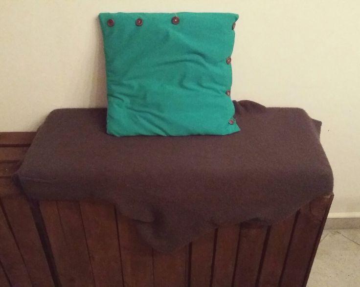 Poszewki z spódnicy i bluzki