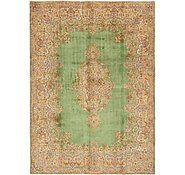 good rug store    Green 8' 10 x 12' Kerman Persian Rug | Persian Rugs | eSaleRugs